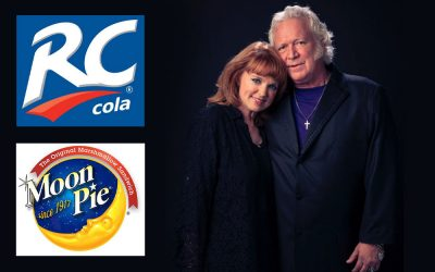 T. Graham Brown and Wife Sheila Brown To Be Crowned 2019 RC Cola and Moon Pie King and Queen Saturday, June 15th