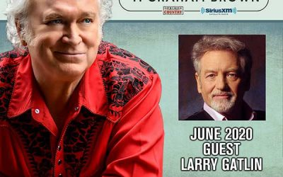 T. Graham Brown Welcomes Larry Gatlin As His Guest On June's Live Wire On SiriusXM's Prime Country Channel 58 Starting Wednesday, June 3 at 10/9c