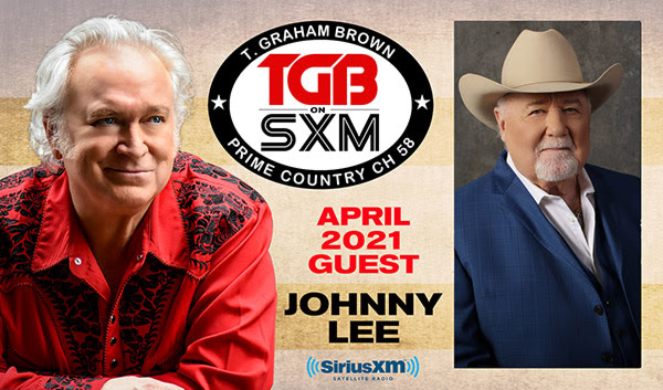 T. Graham Brown Welcomes Johnny Lee As His Guest On April's Live Wire On SiriusXM's Prime Country Channel 58 Starting Wednesday, April 7 at 10/9c
