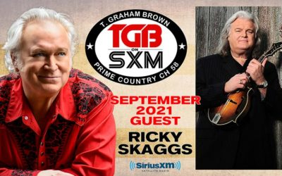 T. Graham Brown Welcomes Ricky Skaggs As His Guest On September's Live Wire On SiriusXM's Prime Country Channel 58 Starting Wednesday, September 1 at 10/9c